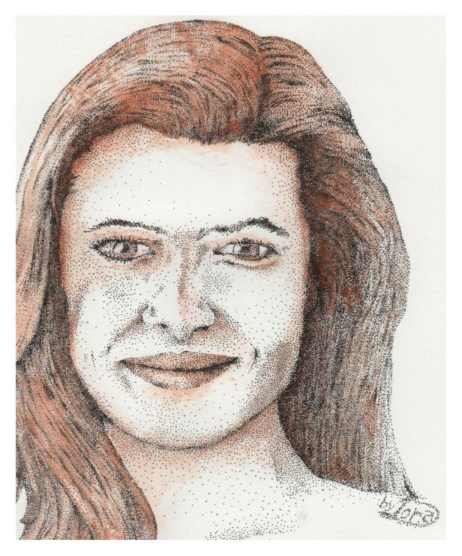 Tara Mohr with dots